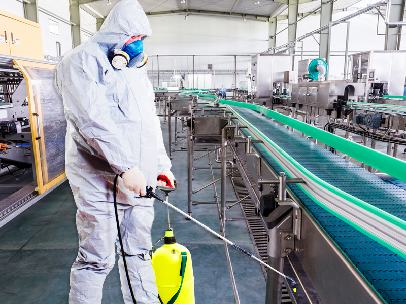 APLICADOR BIOCIDAS DE USO EN LA INDUSTRIA ALIMENTARIA Y AMBIENTAL  DDD  NIVEL CUALIFICADO